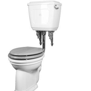 toilet met horizontale afvoer