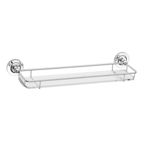 Glazen planchet met rail