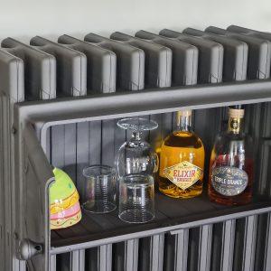 Elektrische gietijzeren bordenwarmer