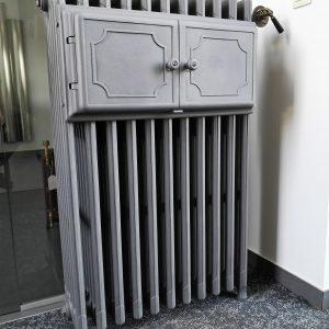 Antieke bordenwarmer