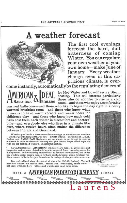 American Radiator Company 1906