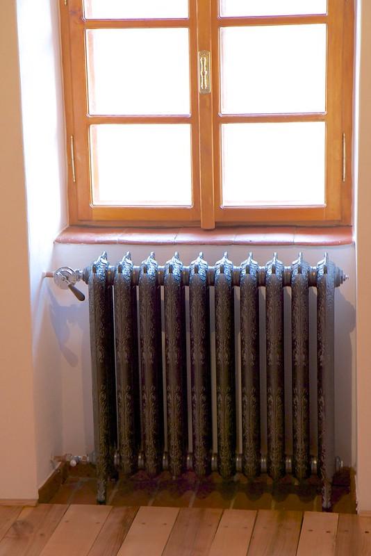 Gietijzeren radiator ARTDECO 10 elementen