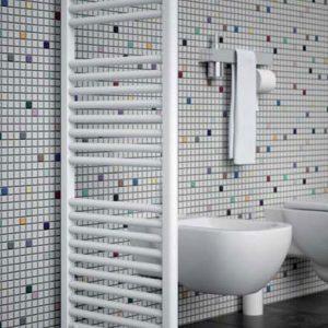 Ruimtedeler set voor badkamerradiator